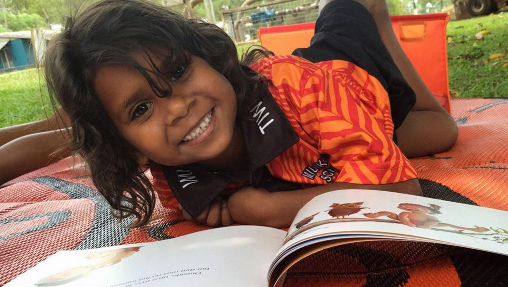 Lánluas sponsors the Indigenous Literacy Foundation